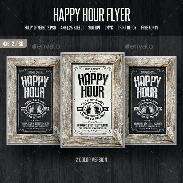 Happy Hour Flyer 2
