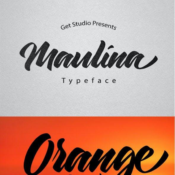 Maulina Typeface
