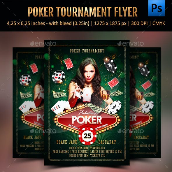 Poker Tournament Flyer