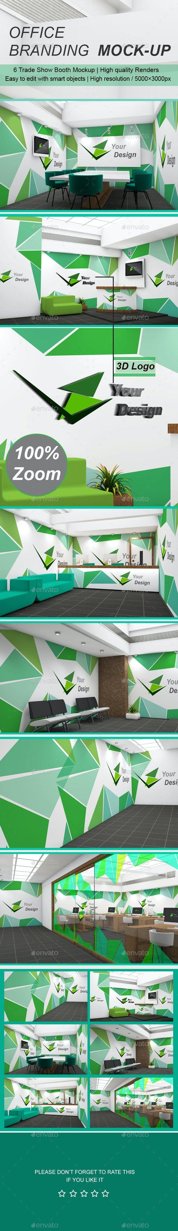 Office Branding Mock-up  - Logo Product Mock-Ups