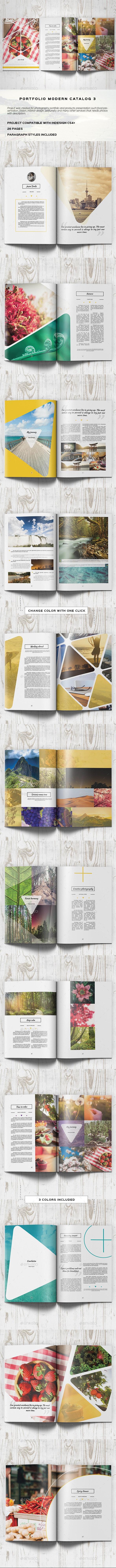 Portfolio Modern Brochure / Catalog 3 - Portfolio Brochures
