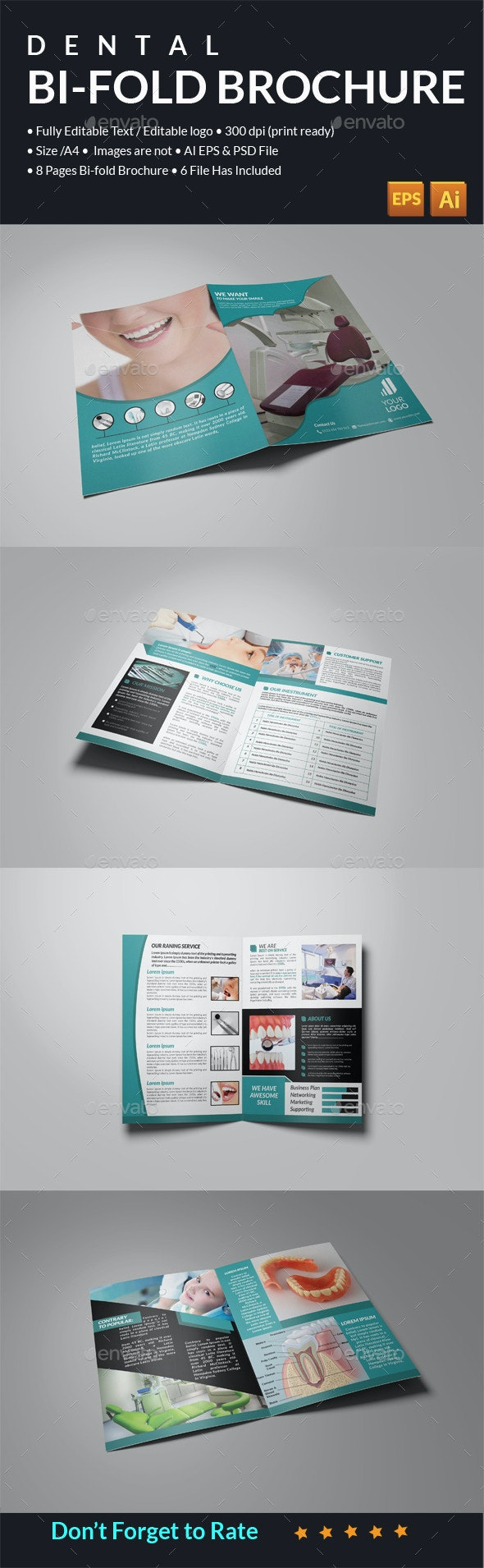 Dental Catalog Template - Catalogs Brochures