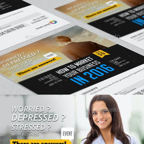Business Event Flyer & Poster