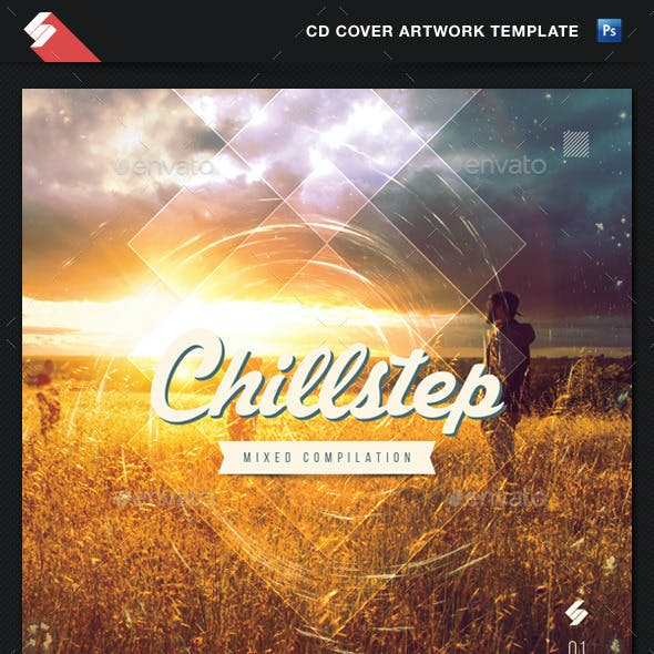 Chillstep - CD Cover Artwork Template