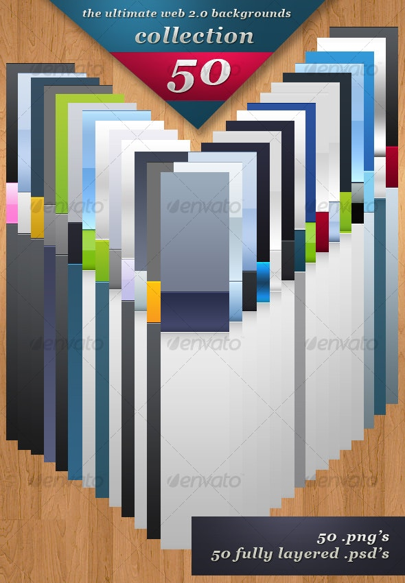 50 web 2.0 Backgrounds Collection - Backgrounds Graphics