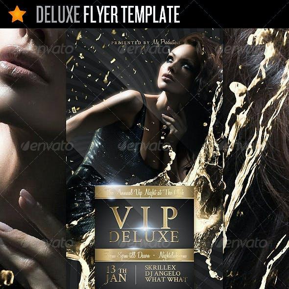 Deluxe - Flyer Template