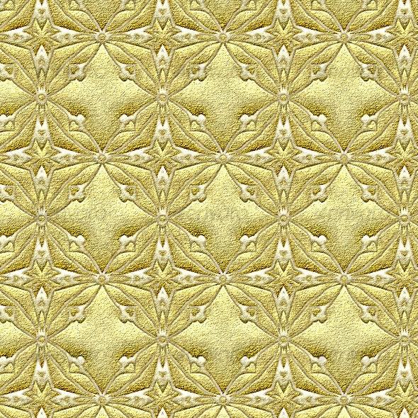 Golden Brocade - Fabric Textures