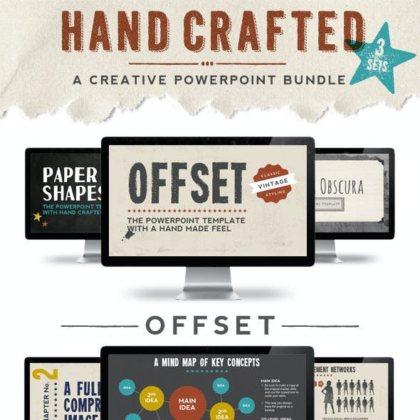 Hand Crafted Powerpoint Bundle