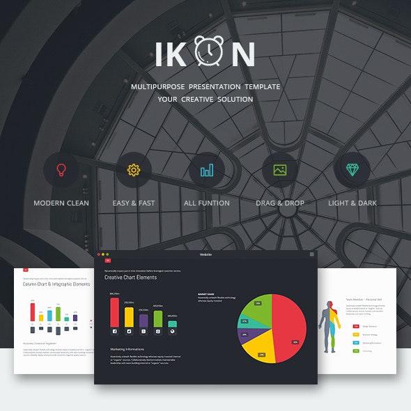 IKON - Multipurpose Presentation Template - Business PowerPoint Templates