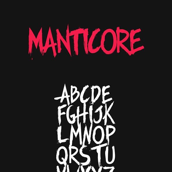 Manticore Typeface