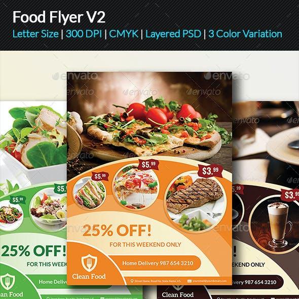 Food Flyer V2