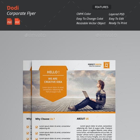 Dodi - Clean Corporate Flyer