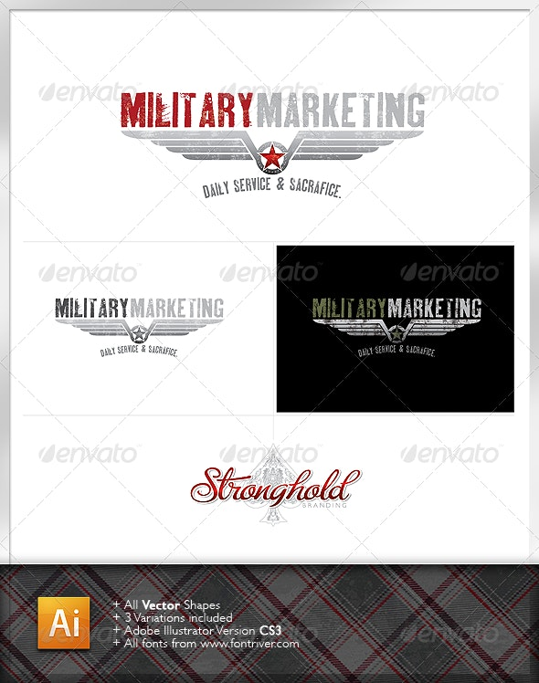 Military Crest 2 Logo - Crests Logo Templates