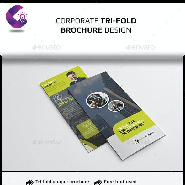 Tri Fold Brochure InDesign Template