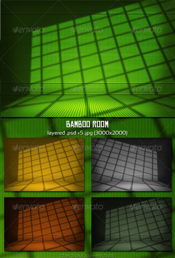 Bamboo Room - Backgrounds Graphics