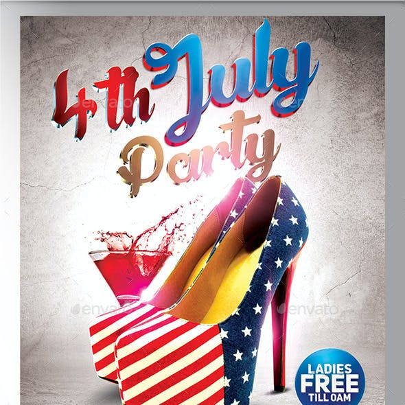 4th July Flyer Template 2015 Edition