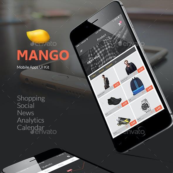 Mango | IOS Mobile UI Kit