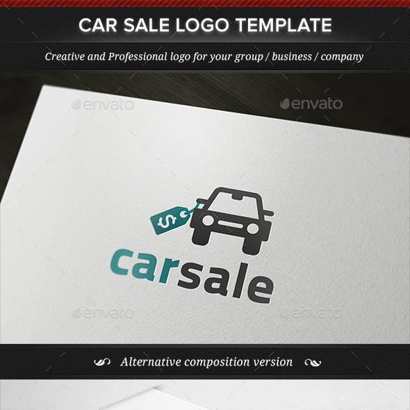 Car Sale Seller Dealer Logo Template
