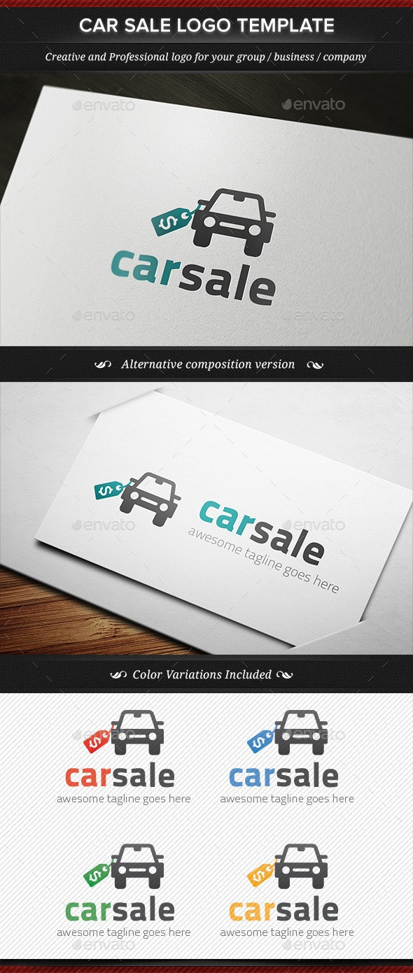 Car Sale Seller Dealer Logo Template By Gbs Graphicriver