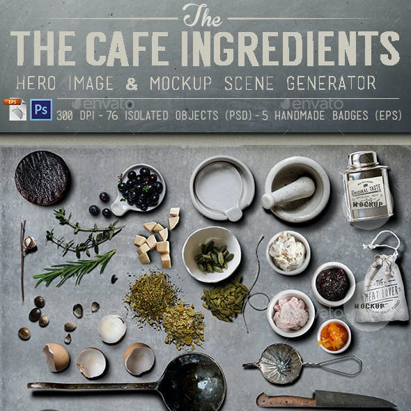 Cafe Ingredients Hero Image