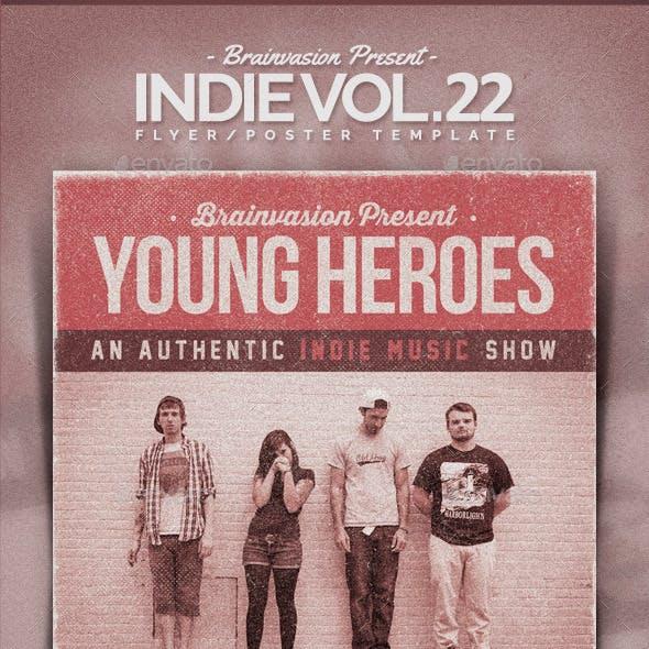 Indie Flyer Template Vol.22