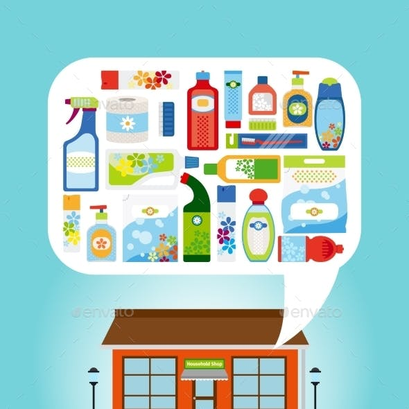 Shop With Household Chemicals