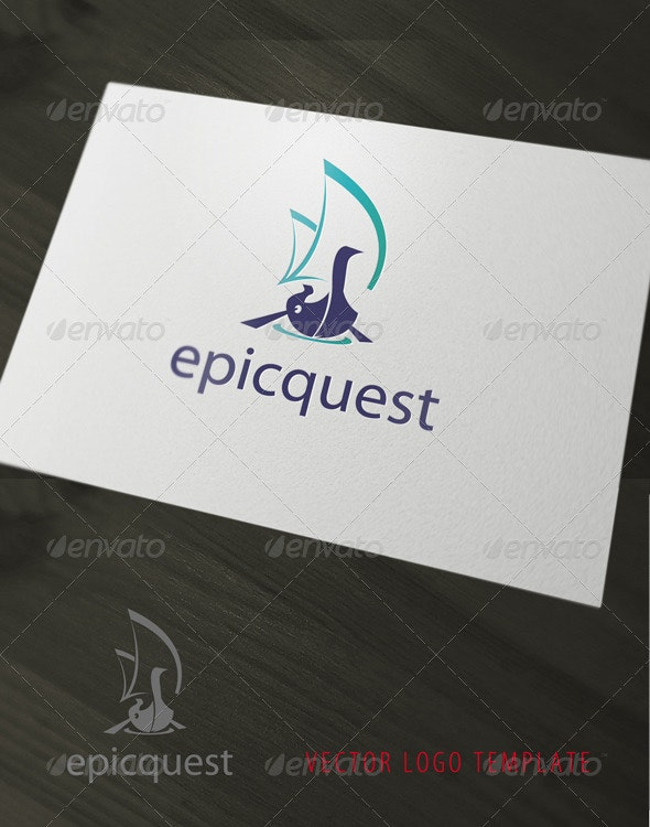 EpicQuest Logo - Objects Logo Templates