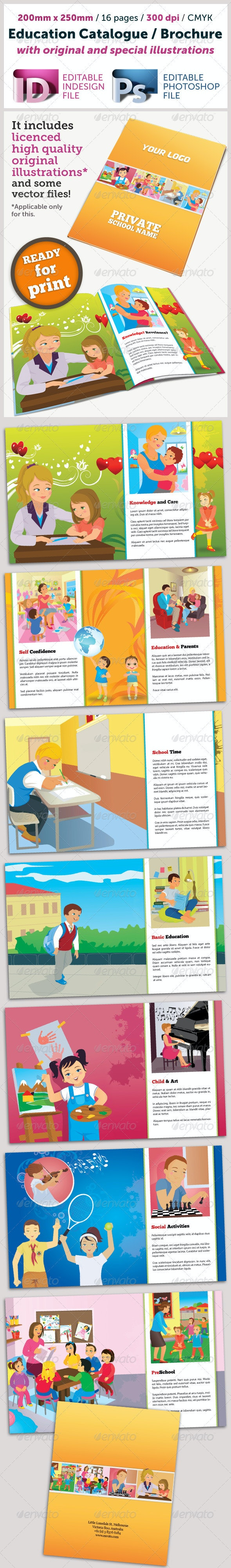 Education Catalogue (Illustrated) - Catalogs Brochures