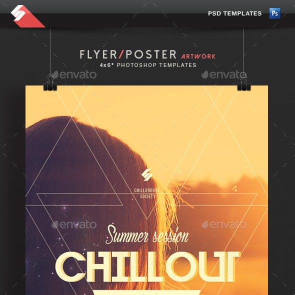 Summer Chillout Session - Flyer Template