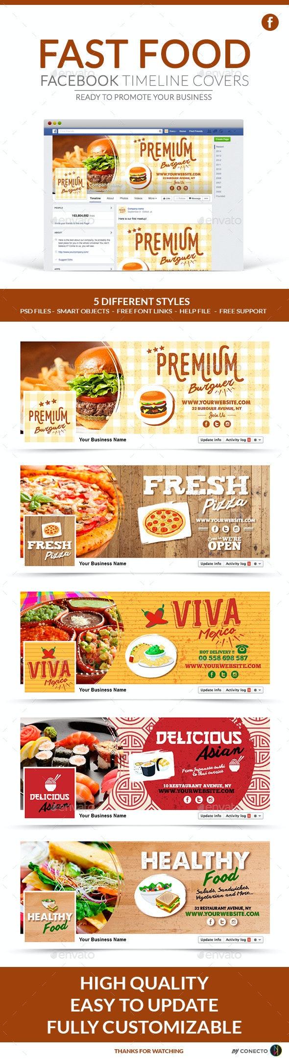 Facebook Timeline Covers - Fast Food - Facebook Timeline Covers Social Media