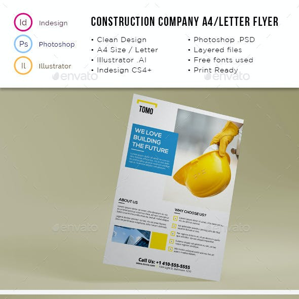 Construction Company A4 / Letter Flyer 02