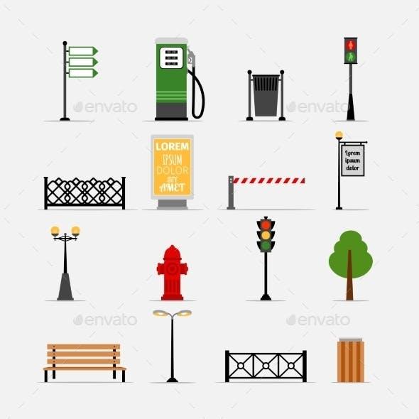 Street Element Icons
