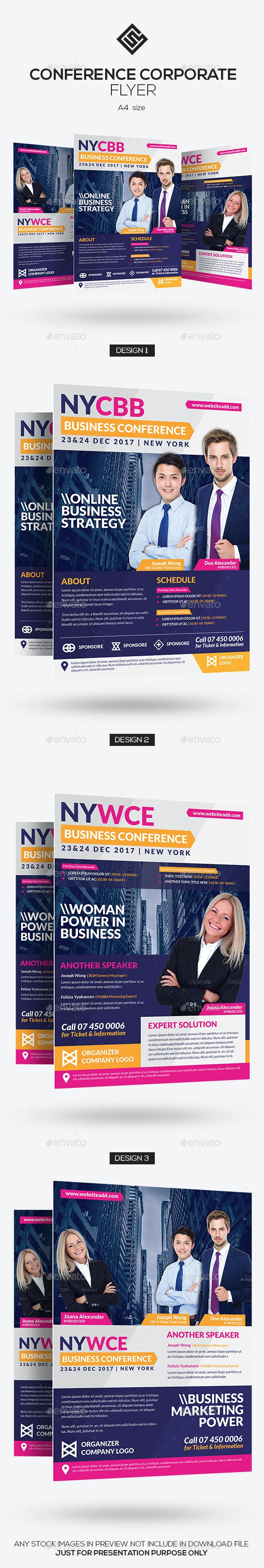 Conference Corporate Flyer - Corporate Flyers