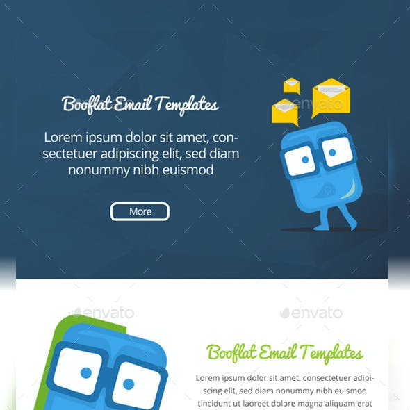 Booflat Email Templates Designs