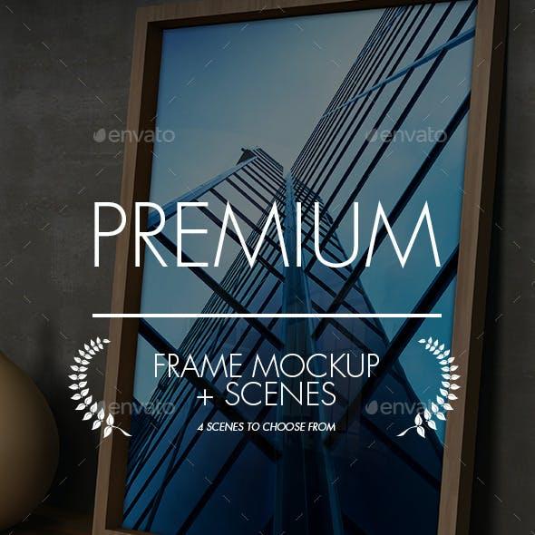 Picture Frame Mockup & Scenes