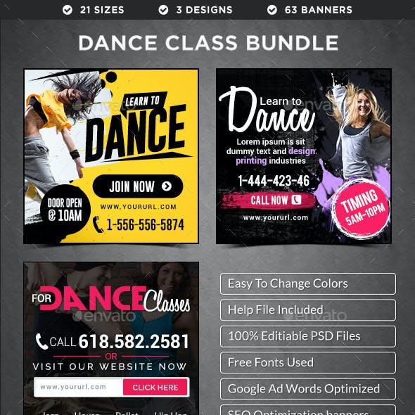 Dance Class Banners Bundle - 3 Sets