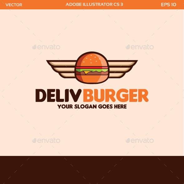 Delivery Burger Logo