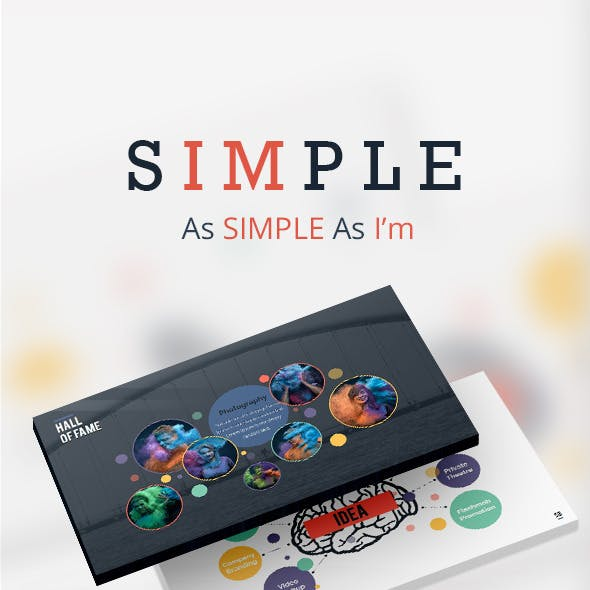 SIMPLE Keynote Presentation - As SIMPLE As I'm