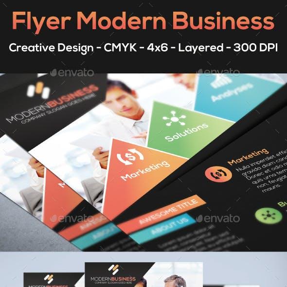 Flyer Modern Business
