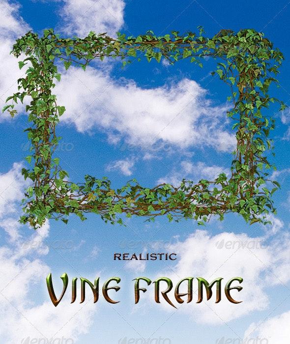 Vine Frame - Backgrounds Graphics