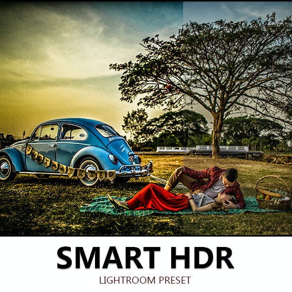 Smart HDR lightroom preset