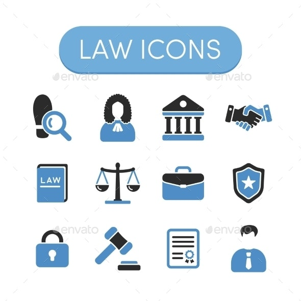 Law Icons - Miscellaneous Icons