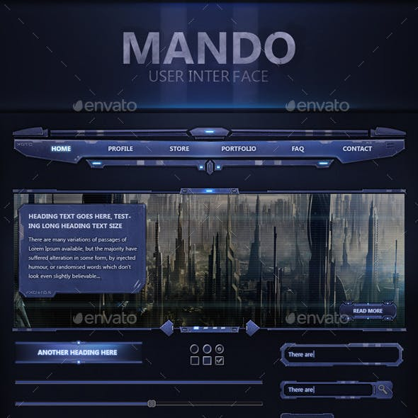 Mando User Interface
