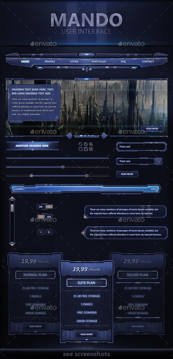 Mando User Interface - User Interfaces Web Elements