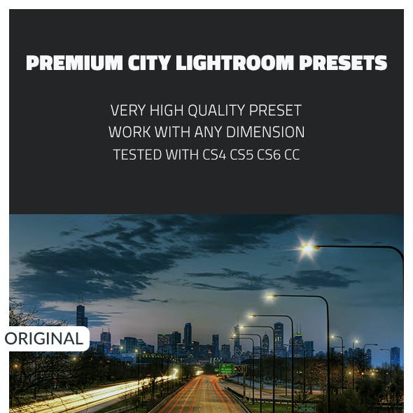 Premium City Lightroom Presets