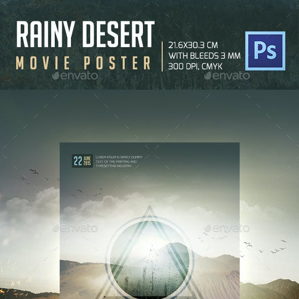 Rainy Desert Movie Poster
