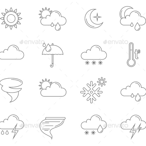 Weather Icons Outline