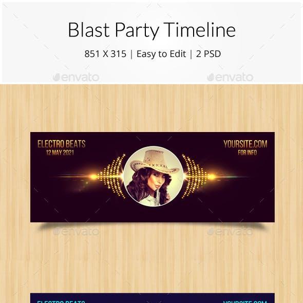 Blast Party Timeline