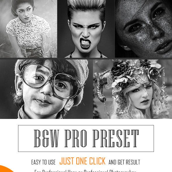 B&W Pro Preset