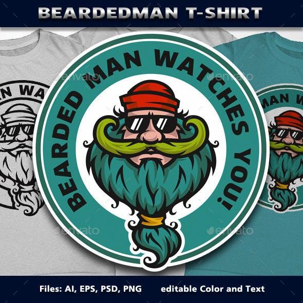 BeardedMan T-Shirt